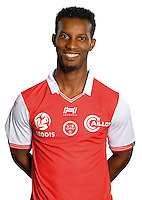 Odair Fortes of Reims during the photocall of Reims for new season of Ligue 2 on September 29th 2016 in Reims<br /> Photo : Stade de Reims / Icon Sport