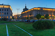 Sofia, Bulgaria: June 2021 - City center after sunrise