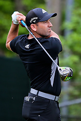 March 29, 2019 - Austin, Texas, United States - Sergio Garcia tees off the 15th hole during the third round of the 2019 WGC-Dell Technologies Match Play at Austin Country Club. (Credit Image: © Debby Wong/ZUMA Wire)
