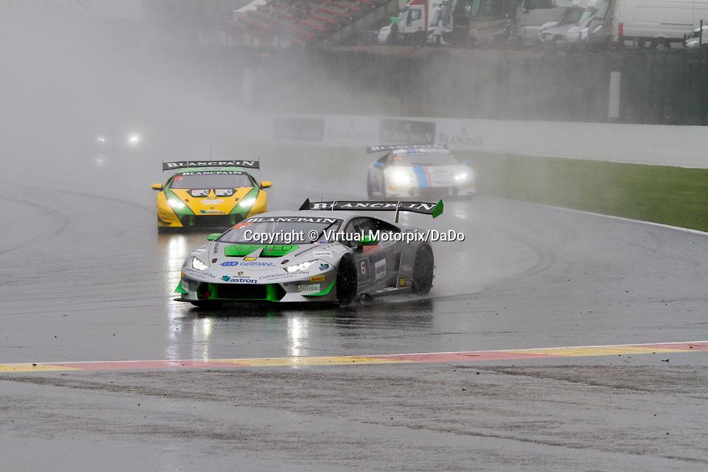 #6, Lamborghini Huracán, Imperiale Racing, A.Cerqui/G.Barri , Lamborghini BlancPain Super Trofeo 2015