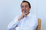 Moscow, Russia, 26/03/2012..Bernard Lukey, President of internet marketing company OZON, at the company's Moscow headquarters.