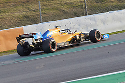 February 26, 2019 - Spain - Lando Norris (McLaren F1 Team) MCL34 car, seen in action during the winter testing days at the Circuit de Catalunya in Montmelo  (Credit Image: © Fernando Pidal/SOPA Images via ZUMA Wire)