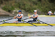 Crew: 70 - Shepherd / In der Rieden - Putney Town Rowing Club - W MasB 2x <br /> <br /> Pairs Head 2020