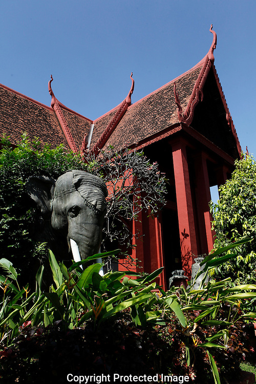 The National Museum of Cambodia   in Phnom Penh, Cambodia<br /> <br /> Photo by Dennis Brack