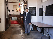 Baptism at Saint James' Church is a church on the island of Saint Helena and is part of the Diocese of St Helena. It is situated in the capital Jamestown and is the oldest Anglican Church in the southern hemisphere; the present building was put up in 1774