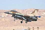 Israeli Air Force (IAF) F-16C (Barak) Fighter jet in flight