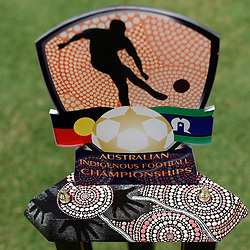 BRISBANE, AUSTRALIA - NOVEMBER 10:  during the Australian Indigenous Football Championships Match Day 3 on November 10, 2018 in Brisbane, Australia. (Photo by Patrick Kearney)
