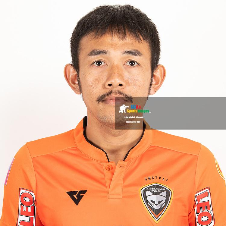 THAILAND - JUNE 25: Pralong Sawandee #32 of Nakhonratchasrima Mazda FC on June 25, 2019.<br /> .<br /> .<br /> .<br /> (Photo by: Naratip Golf Srisupab/SEALs Sports Images/MB Media Solutions)