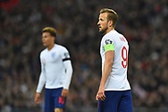 Harry Kane of England during the UEFA European 2020 Qualifier match between England and Czech Republic at Wembley Stadium, London, England on 22 March 2019.