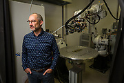 AREVO CEO Jim Miller poses for a portrait at AREVO in Santa Clara, California, on August 1, 2018. (Stan Olszewski for Silicon Valley Business Journal)