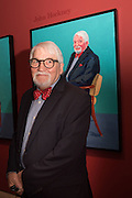 JOHN HOCKNEY, David Hockney RA: 82 Portraits and 1 Still-life. Royal Academy of Arts. Piccadilly. London. 28 June 2016
