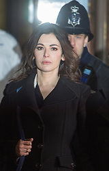 The TV Chef Nigella Lawson leaves Isleworth Crown Court. London, United Kingdom. Wednesday, 4th December 2013. The TV chef is expected to testify today at trial for Francesca and Elisabetta Grillo, who appear charged with fraud after allegedly using a company credit card to defraud the TV chef and her former husband out of ¬£300,000. Picture by i-Images<br />