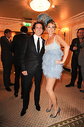 STEPHEN & ASSIA WEBSTER at the Fantasy Ball in aid if children's cancer charity CLIC Sargent held at The Dorchester, Park Lane, London on 11th November 2010.