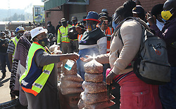 South Africa - Pretoria - 4 June 2020 - MEC of Comunity Safety Faith Mazibuko speaking to informal traders in Marabastad where police checked if lockdown regulations are being followed.<br /> Picture: Jacques Naude/African News Agency(ANA)
