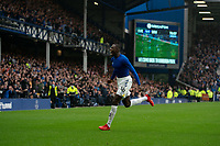 Football - 2021 / 2022 Premier League - Everton vs Southampton - Goodison Park - Saturday 14th August 2021.<br /> <br /> Everton's Abdoulaye Doucoure  celebrates scoring his sides second goal <br /> <br /> <br /> Credit COLORSPORT/Terry Donnelly