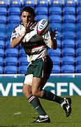 Reading, Berkshire, UK., 19th September 2004, Zurich Premiership Rugby, London Irish vs Leicester Tigers, Madejski Stadium, England, [Mandatory Credit: Pete Spurrier/Intersport Images],<br /> <br /> Tiger's scrum half, Harry Ellis.