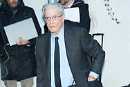 Antonio Garrigues Walker attends Princess PIlar Borbon funeral chapel  installed in the Gomez-Acebo house on January 8, 2020 in Madrid, Spain