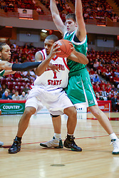 11 December 2004<br /> <br /> Lorenzo Gordon<br /> <br /> ISU Redbirds V Marshall Thundering Herd NCAA Men's Basketball.  Redbird Arena, Illinois State University, Normal IL