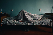 En el hospital de Ivankiv son tratados los enfermos por los diversos efectos que la radiación causa en sus cuerpos.