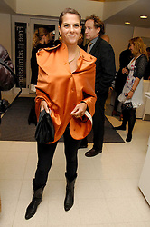 TRACEY EMIN at a party to celebrate the publication of Vivienne Westwood's Opus held at The Serpentine Gallery, Kensington Gardens, London W2 on 12th February 2008.<br /><br />NON EXCLUSIVE - WORLD RIGHTS