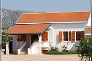 The main vineyard building and offices. Hercegovina Vino, Mostar. Federation Bosne i Hercegovine. Bosnia Herzegovina, Europe.