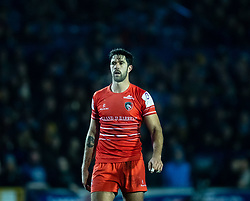 EW Viljoen of Leicester Tigers<br /> <br /> Photographer Simon King/Replay Images<br /> <br /> European Rugby Challenge Cup Round 2 - Cardiff Blues v Leicester Tigers - Saturday 23rd November 2019 - Cardiff Arms Park - Cardiff<br /> <br /> World Copyright © Replay Images . All rights reserved. info@replayimages.co.uk - http://replayimages.co.uk