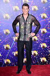 James Cracknell arriving at the red carpet launch of Strictly Come Dancing 2019, held at BBC TV Centre in London, UK.