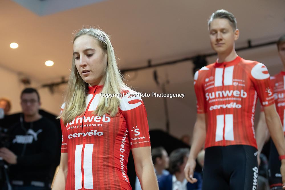10-12-2019: Wielrennen: Teampresentatie Sunweb: Amsterdam: Franziska Koch