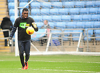 Coventry City's Reice Charles-Cook during the pre-match warm-up <br /> <br /> Photographer Andrew Vaughan/CameraSport<br /> <br /> Football - The Football League Sky Bet League One - Coventry City v Fleetwood Town - Saturday 27th February 2016 - Ricoh Stadium - Coventry   <br /> <br /> © CameraSport - 43 Linden Ave. Countesthorpe. Leicester. England. LE8 5PG - Tel: +44 (0) 116 277 4147 - admin@camerasport.com - www.camerasport.com