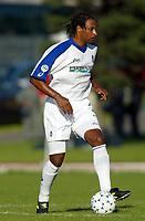 Fotball. Italiensk Liga 2002/2003.<br /> Ousmane Dabo, Atalanta Bergamo.<br /> Foto: Digitalsport