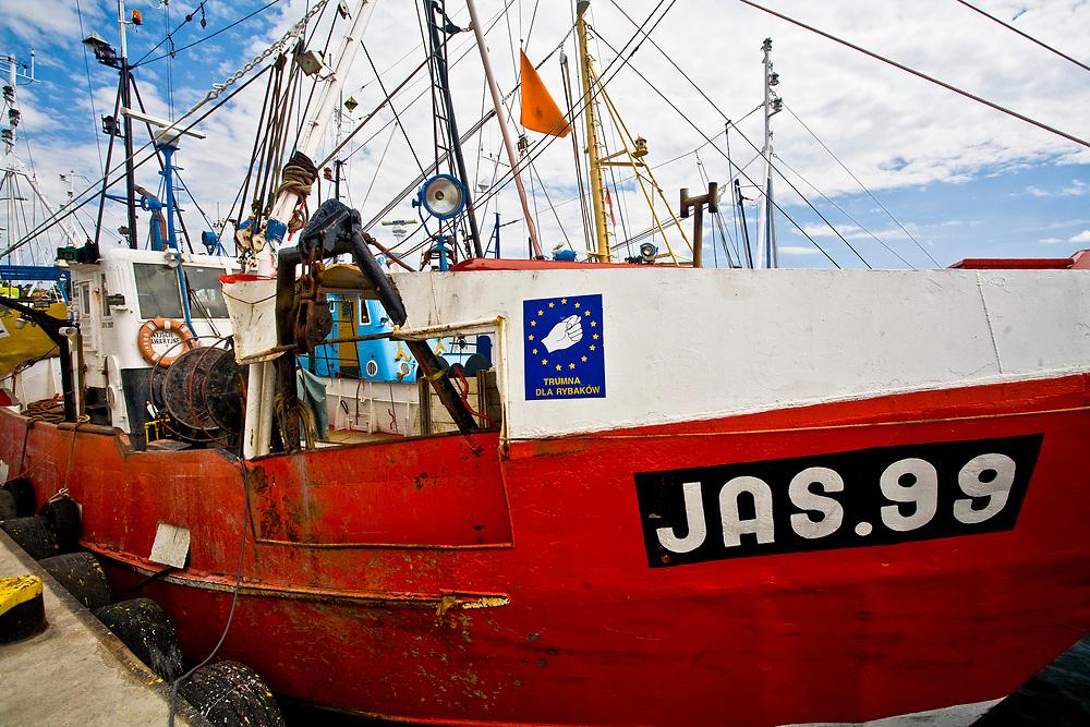 Jastarnia, 2008-06-21. Kutry rybackie, port w Jastarni