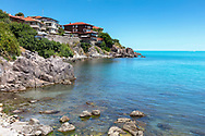 Black Sea small town by the coast