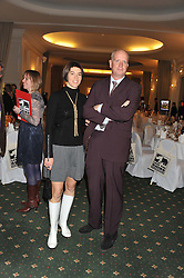 TOM KENYON-SLANEY and AURELIA DITTON at a dinner in aid of the charity Save The Rhino held at ZSL London Zoo, Regents Park, London on 16th October 2012.