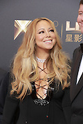 MACAU, CHINA - OCTOBER 27: (CHINA OUT)<br /> American singer, composer and actress Mariah Carey and james packer attend an opening ceremony of Studio City Macau on October 27, 2015 in Macau, China.  ©Exclusivepix Media