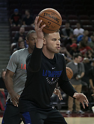 October 10, 2017 - Los Angeles, California, U.S - Blake Griffin #32 of the Los Angeles Clippers during their Free Open Practice for fans held on Tuesday October 10, 2017 at the Galen Center in USC in Los Angeles, California. (Credit Image: © Prensa Internacional via ZUMA Wire)