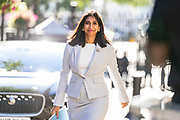 Attorney General Suella Braverman arrives in Downing Street on Tuesday, 21 July 2020 – to attend a Cabinet meeting for the first time since the lockdown to be held at the Foreign and Commonwealth Office (FCO) in London. (VXP Photo/ Vudi Xhymshiti)