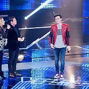 NLD/Hilversum/20151211 - 2e Liveshow The Voice of Holland, TVOH, Afvaller Daniel Kist
