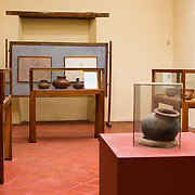 Nicaraguan pottery on display at the Centro Cultural Convento San Francisco. The The Centro Cultural Convento San Francisco, located just a couple of blocks from Parque Central in Granada, is dedicated to the history of the region.