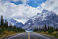 Autumn on the Icefields Parkway in the Canadian Rocky Mountains.