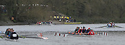 Putney. London,  General View of crews boating from Putney Town boathouse and slipway. 2015  Head of the River Race. Championship Course Putney to Mortlake.  ENGLAND. <br /> <br /> Sunday   29/03/2015<br /> <br /> [Mandatory Credit; Intersport-images]