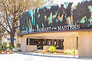 Front Entrance at Festival of the Arts Downtown on Laguna Canyon Road