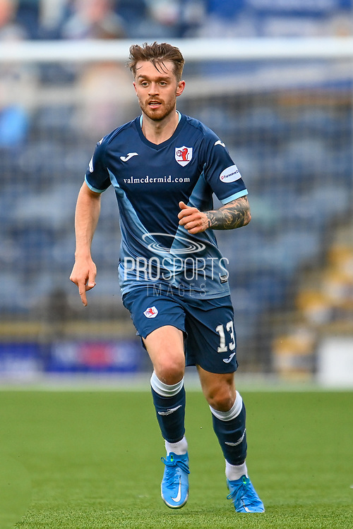 Brad Spencer (#13) of Raith Rovers FC during the SPFL Championship match between Raith Rovers and Heart of Midlothian at Stark's Park, Kirkcaldy, Scotland on 30 April 2021.