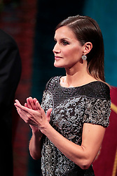 Queen Letizia of Spain attending the Princess Of Asturias Awards ceremony on October 19, 2018 in Oviedo, Spain. Photo by Archie Andrews/ABACAPRESS.COM