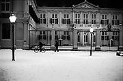 Het Paleis Noordeinde in wintertijd. Den Haag, 2021.