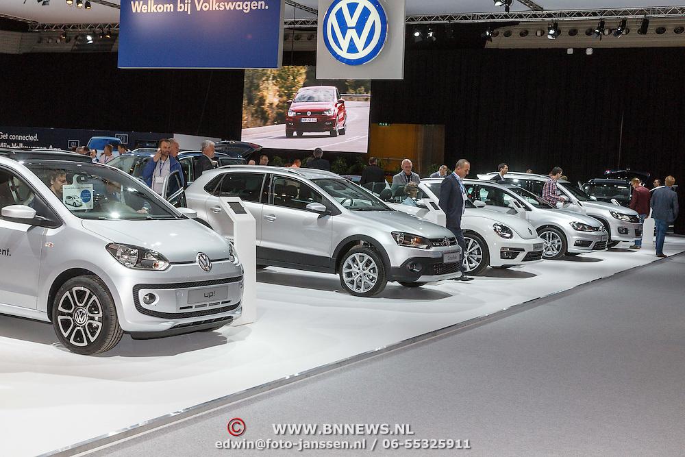 NLD/Amsterdam/20150416 - Opening AutoRai 2015, Volkswagen auto's