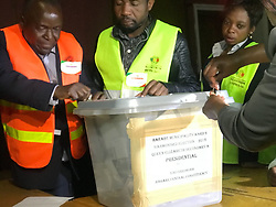 30-07-18 Zimbabwe,Harare: Counting officers  prepare to count the Ballot papers at Queen Elizabeth Secondary school in Harare in the presence of monitoring officers and media. Picture: Matthews Baloyi/ African News Agency(ANA)