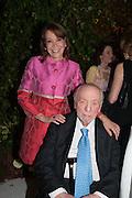 SYBIL KRETZMER; HERBERT KRETZMER, The Cartier Chelsea Flower show dinner. Hurlingham club, London. 20 May 2013.