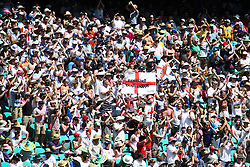 © Licensed to London News Pictures. 04/01/2014. Barmy Army supporters during day 2 of the 5th Ashes Test Match between Australia Vs England at the SCG on 4 January, 2013 in Melbourne, Australia. Photo credit : Asanka Brendon Ratnayake/LNP