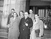 28/03/1955<br /> 03/28/1955<br /> 28 March 1955<br /> <br /> Federation of Irish Manufacturers Deputation to Minister for Industry and Commerce