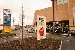 Tesco Extra, Rotherham, Yorkshire UK